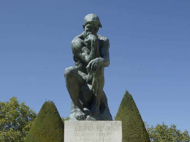 Auguste Rodin, The Thinker, 1880