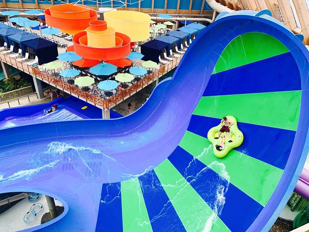 Christmas in July: How New York's largest indoor waterpark rings in the holidays