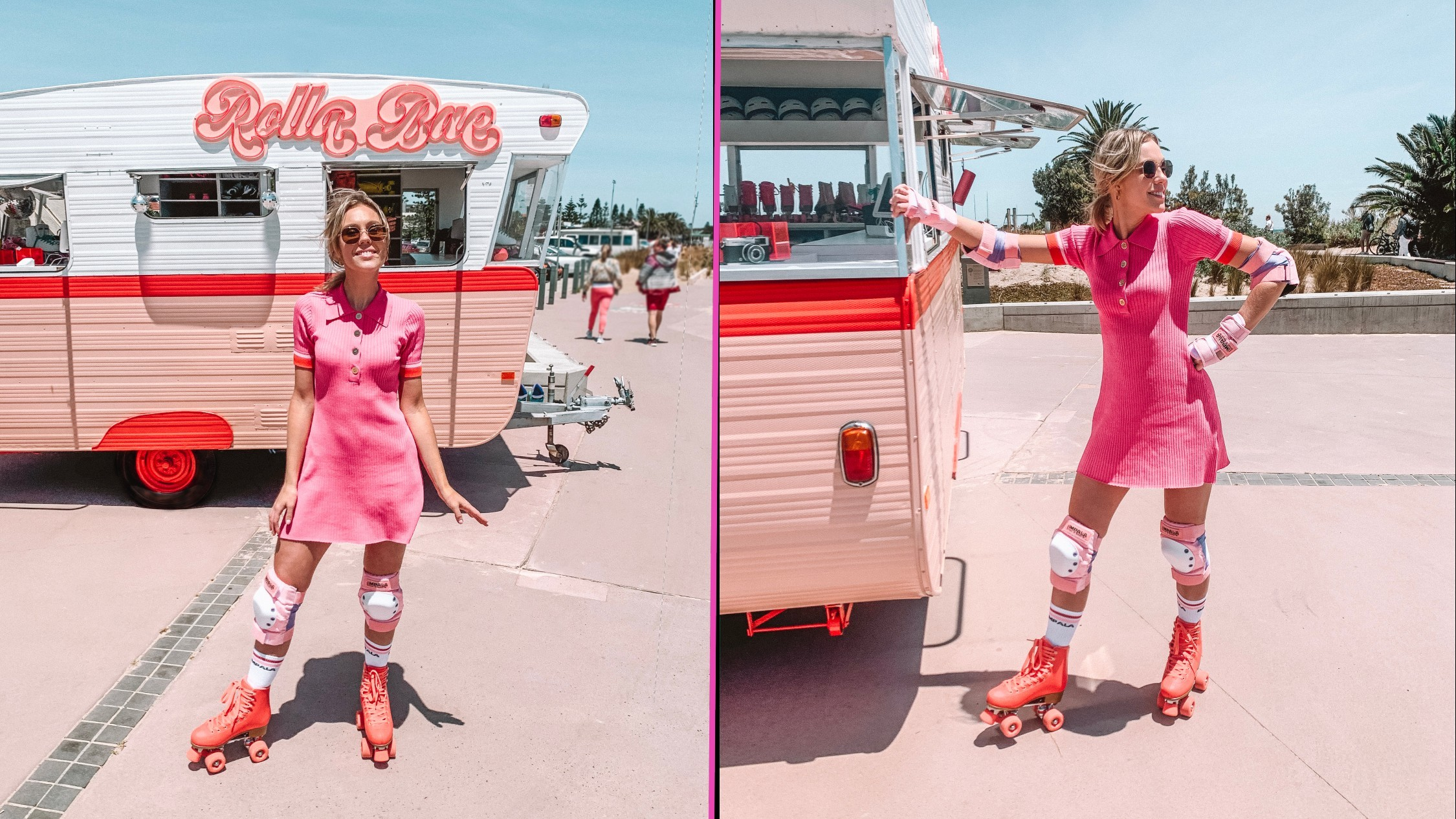 You can rent retro '90s roller skates on St Kilda Beach