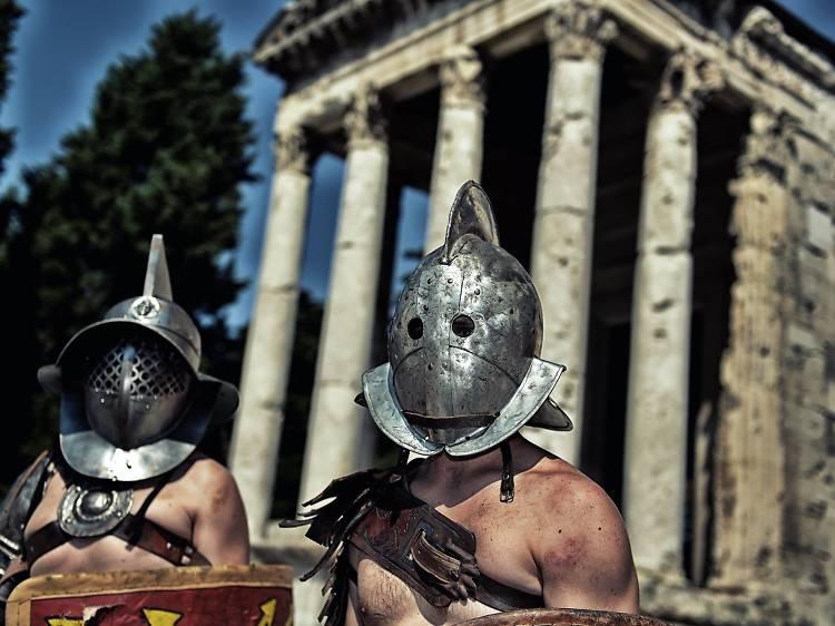 Indulge in a Roman feast
