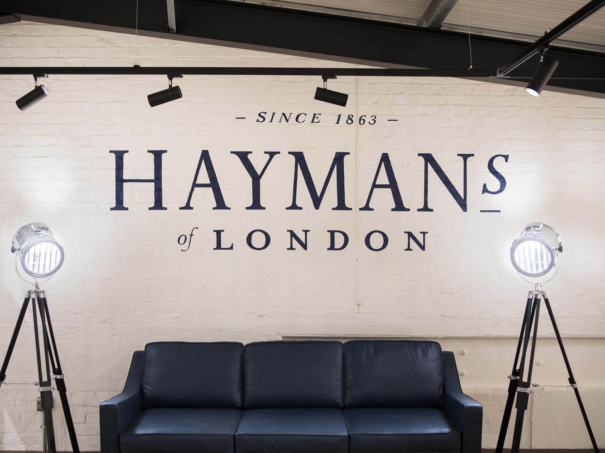 hayman's distillery