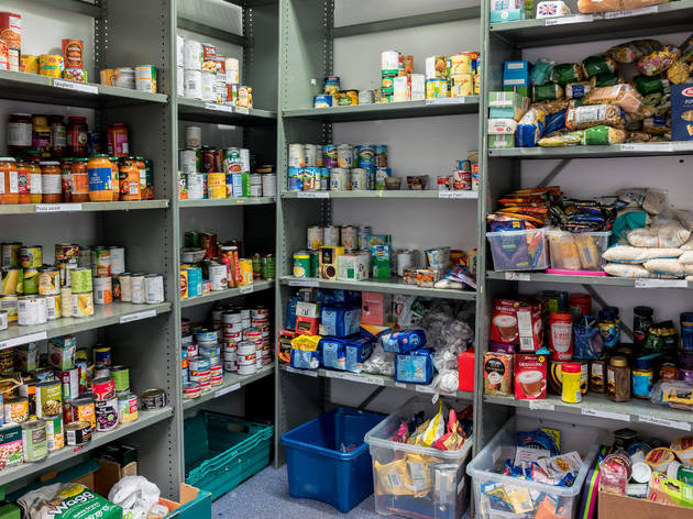 Hackney Foodbank is struggling to cope with demand this Christmas