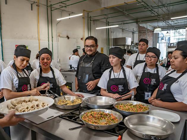 Gastromotiva México, clases de cocina en la Doctores