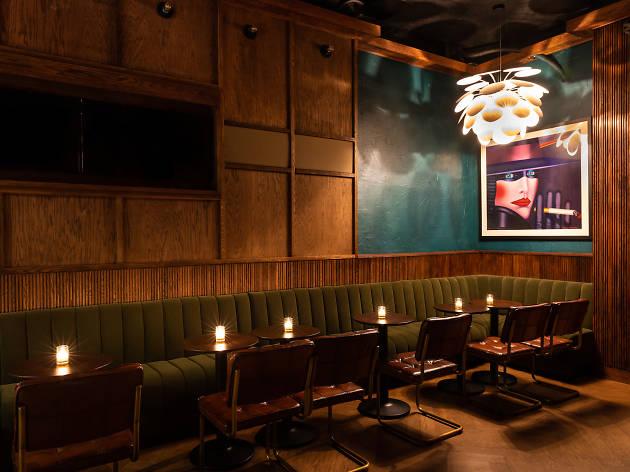 J.Bespoke is a new speakeasy sports bar hidden behind a coffee shop