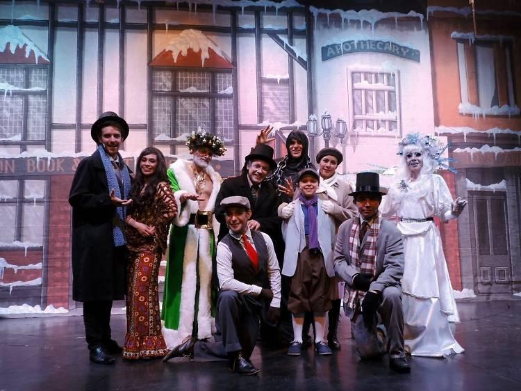 Un cuento de Navidad. El señor Scrooge