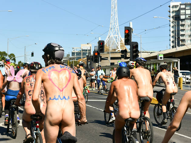 Nude riders