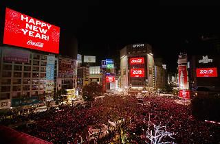 Shibuya Crossing Countdown