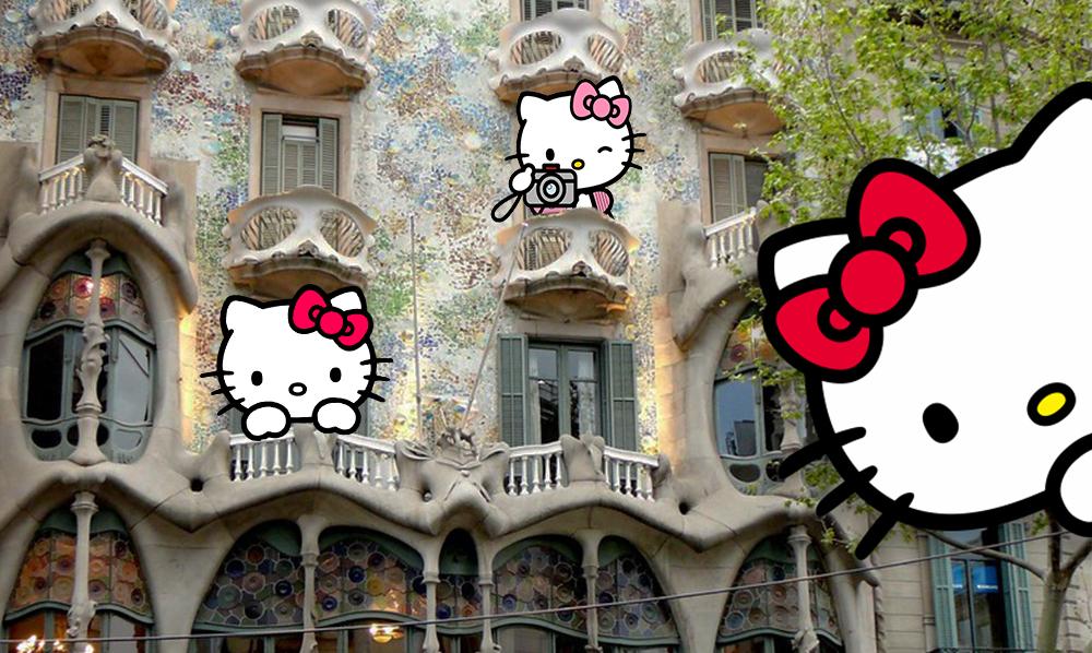Casa Batlló y Hello Kitty se unen para crear nuevos souvenirs