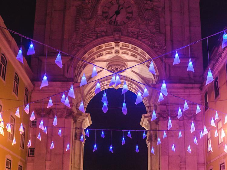À descoberta das luzes de Natal em Lisboa