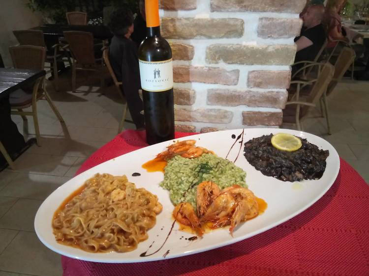 Savour seafood at Konoba Feral