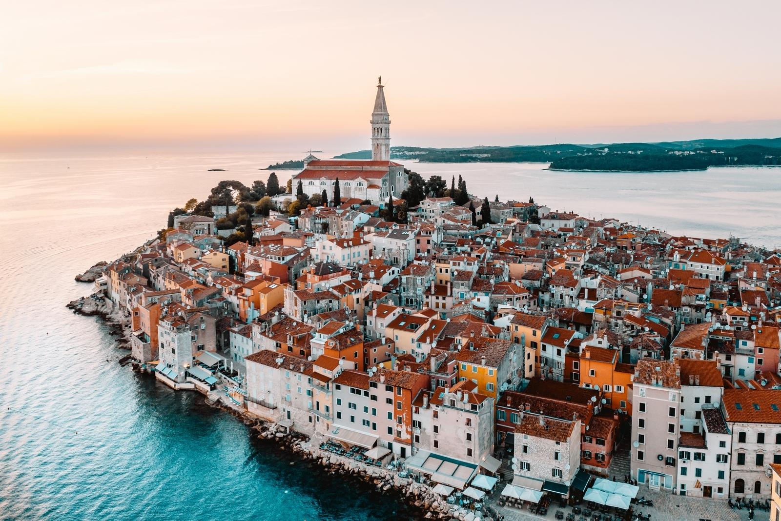 Rovinj, adriatic, riviera, sea, coasting, croatia, istria, istra