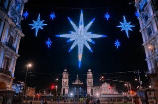 Las fiestas navideñas llegan al Zócalo de la CDMX