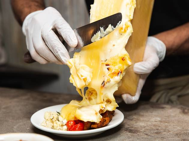Raclette Cheese Pop-up