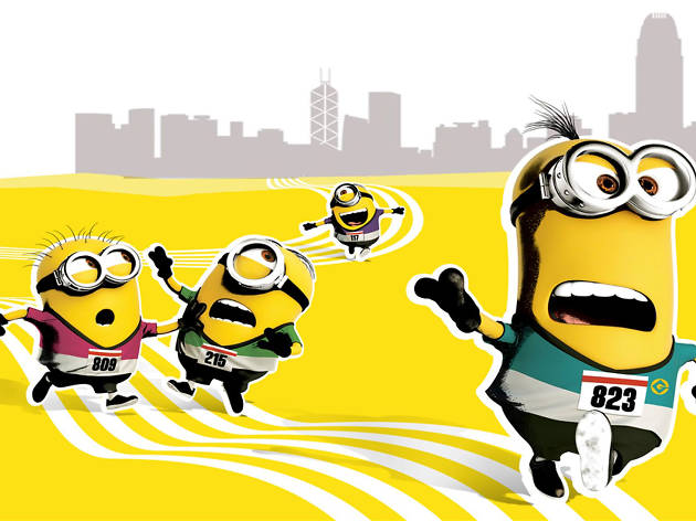 Minions Run HK