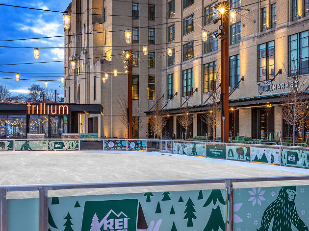 Now open: The Rink at 401 Park