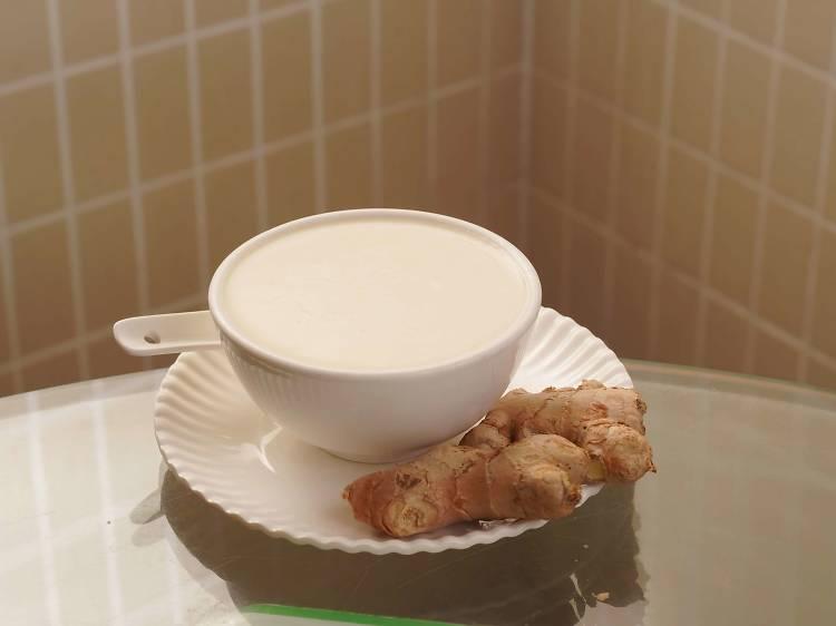 薑汁撞奶:大良美味