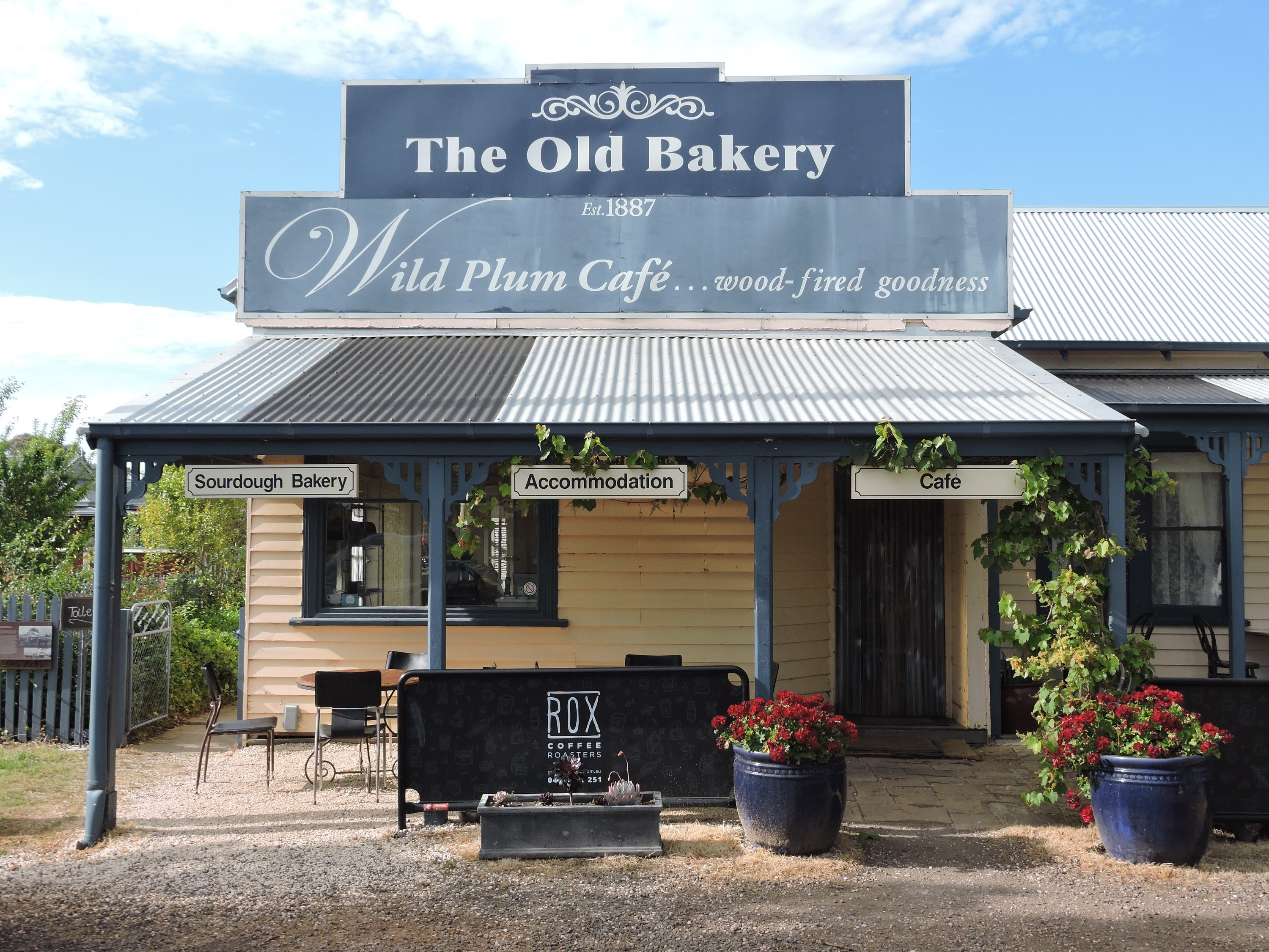 Exterior of Dunkeld Old Bakery