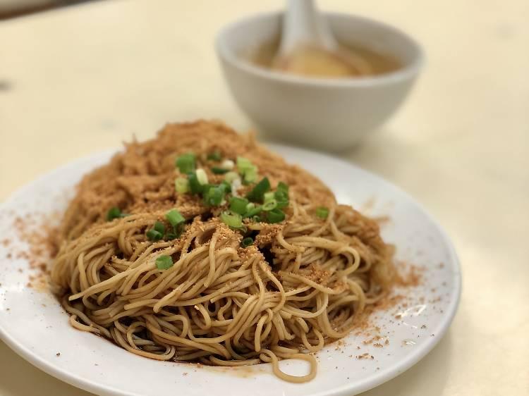 蝦子麵:鹹香惹味