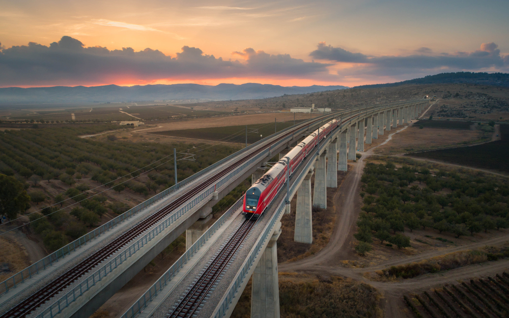 After nearly two decades of construction, the express line connecting Tel Aviv and Jerusalem is finally here