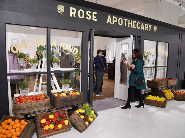 Rose Apothecary at the Schitt's Creek pop-up.