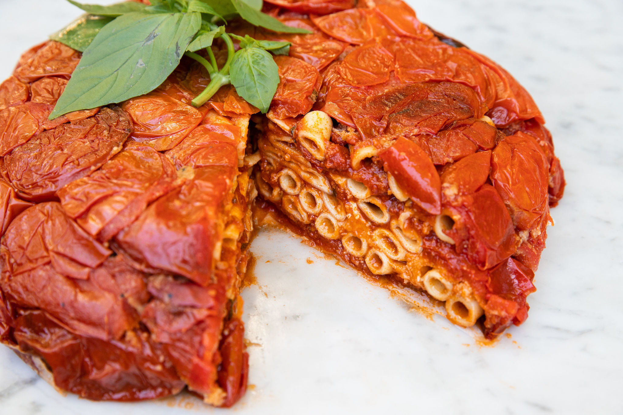 Dig into a pasta-cake at new West Village restaurant Pasta Al Forno