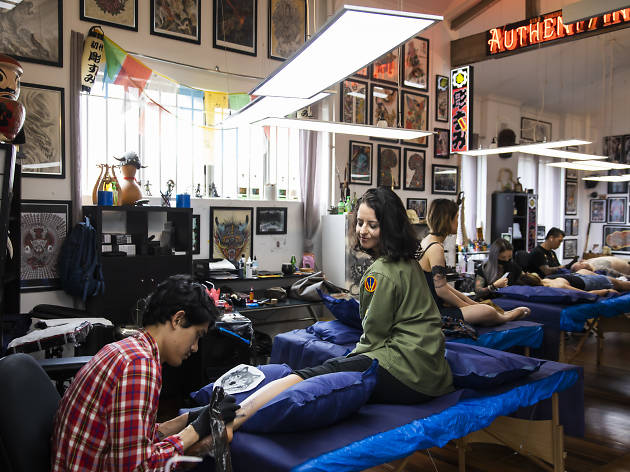 Authentink tattoo studio in Surry Hills