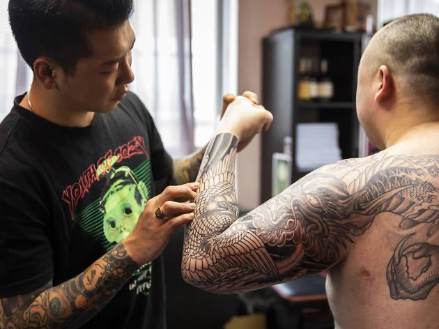 Authentink tattoo studio Surry Hills