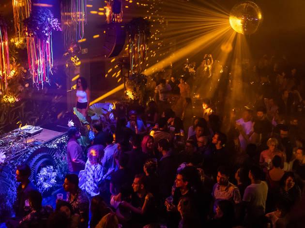 Onda Mundial: fiestas de electro-tropical en Galera para bailar toda la noche