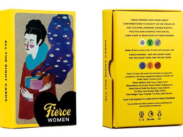 Fierce Woman at ArtOmat