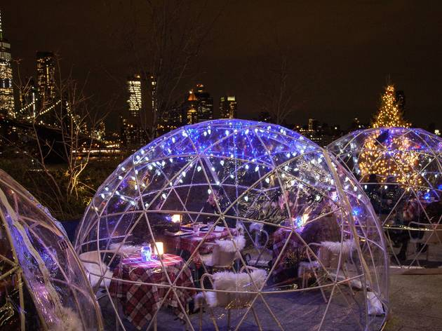 Time Out Market New York opens Rooftop Iglounge