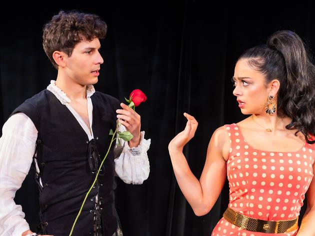 Nikita Burshteyn and Anna Kostakis in Romeo & Bernadette