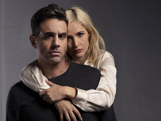 Rose Byrne and Bobby Cannavale in Medea