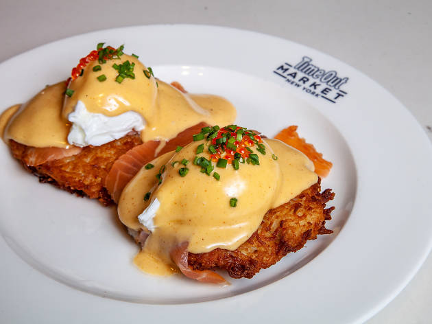 Food Envy: Clinton St. Baking Company's latke eggs Benedict