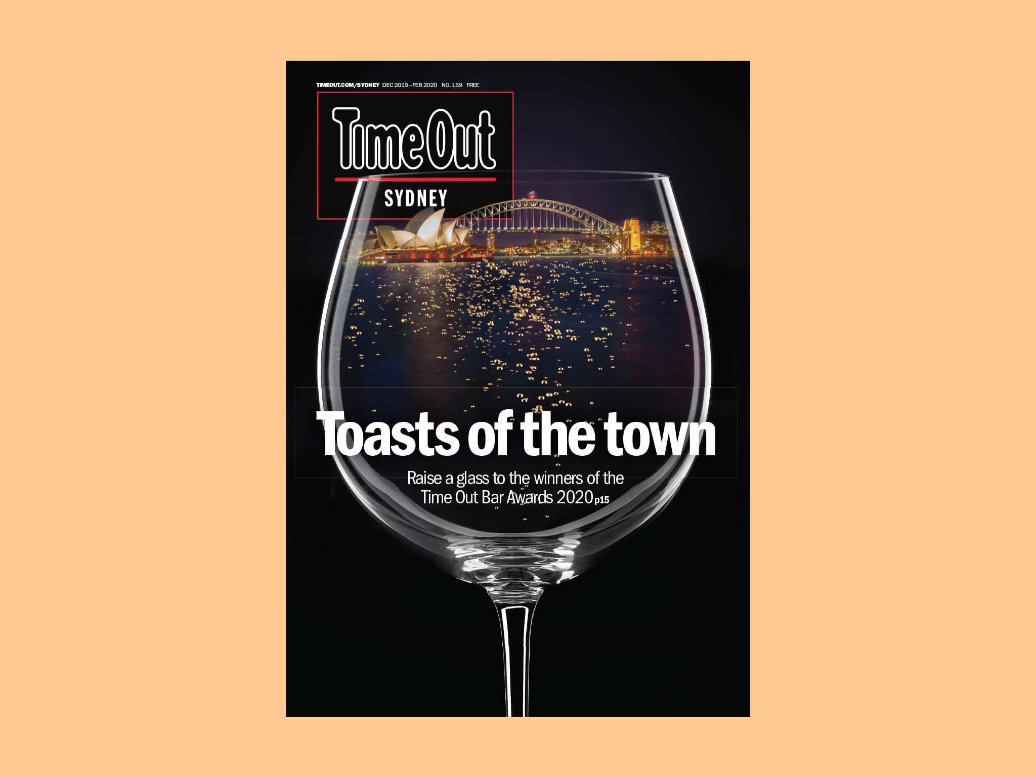 Time Out Cover #159