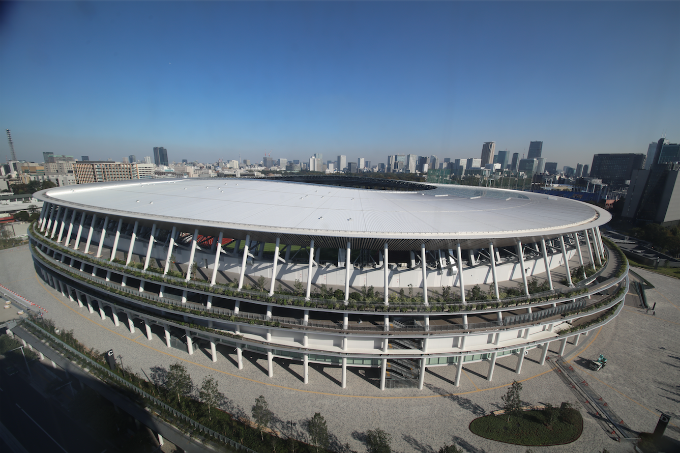 See the new Japan National Stadium ahead of the Tokyo 2020 Olympics via this virtual tour
