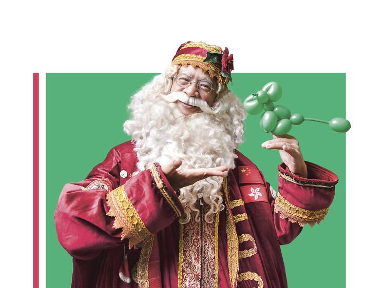 港產首個世界第一聖誕老人