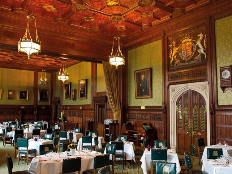 Almoçar no Parlamento