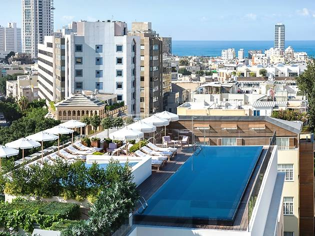 The top boutique hotels in Tel Aviv