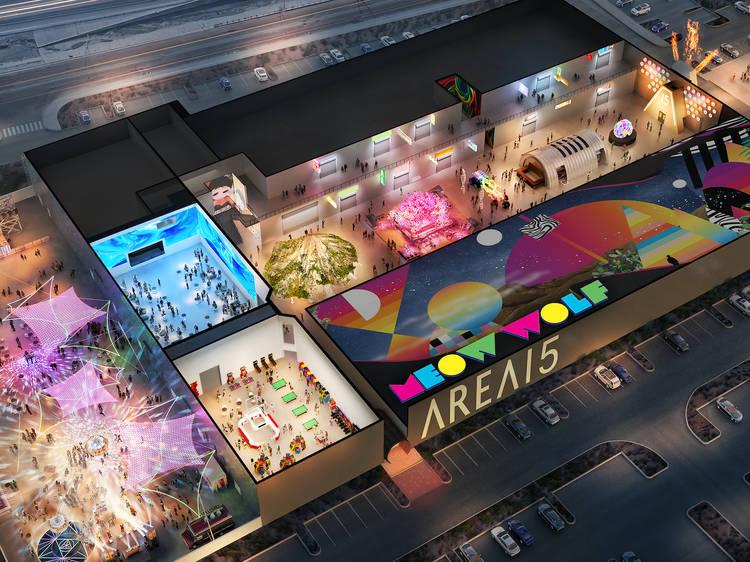 Explore the world's weirdest mall: AREA15 Las Vegas