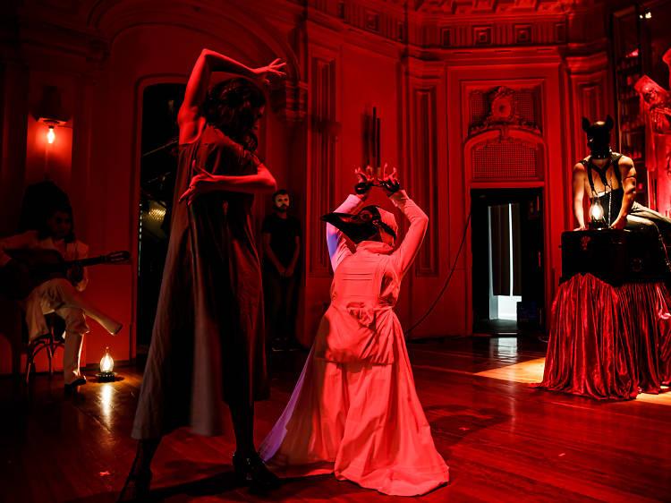 Enter Madrid's flamenco fever dream