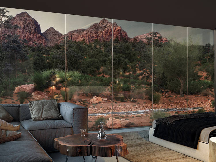 Stay in a magical American 'landscape hotel'