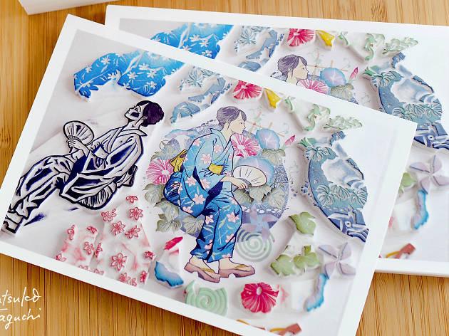 Eraser Stamp Exhibition – Reflect the Seasons