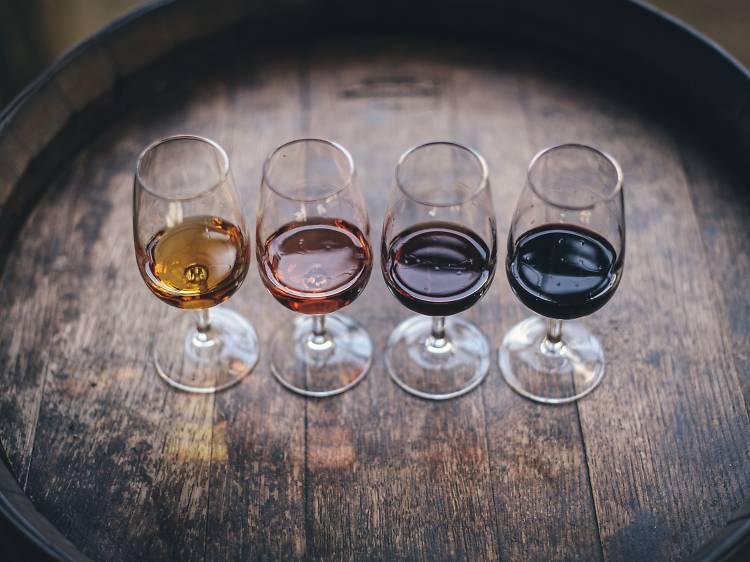 Cursos de vinhos da Reserva85
