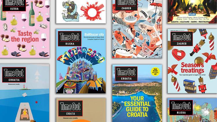 Time Out Croatia magazines