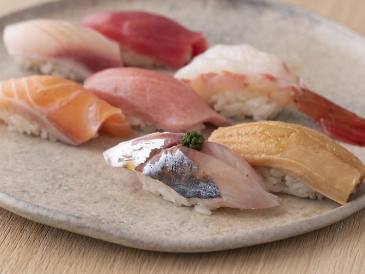 Diverse Japanese cuisine