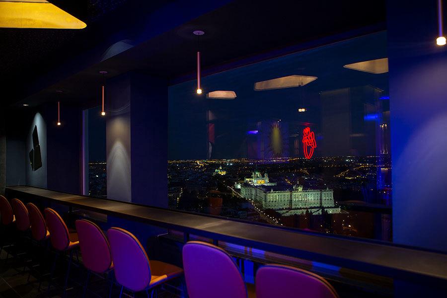 Sky bar de Madrid al Cielo