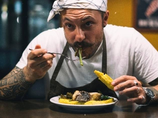 Boomerang: Diego Rossi en la cocina de Pujol