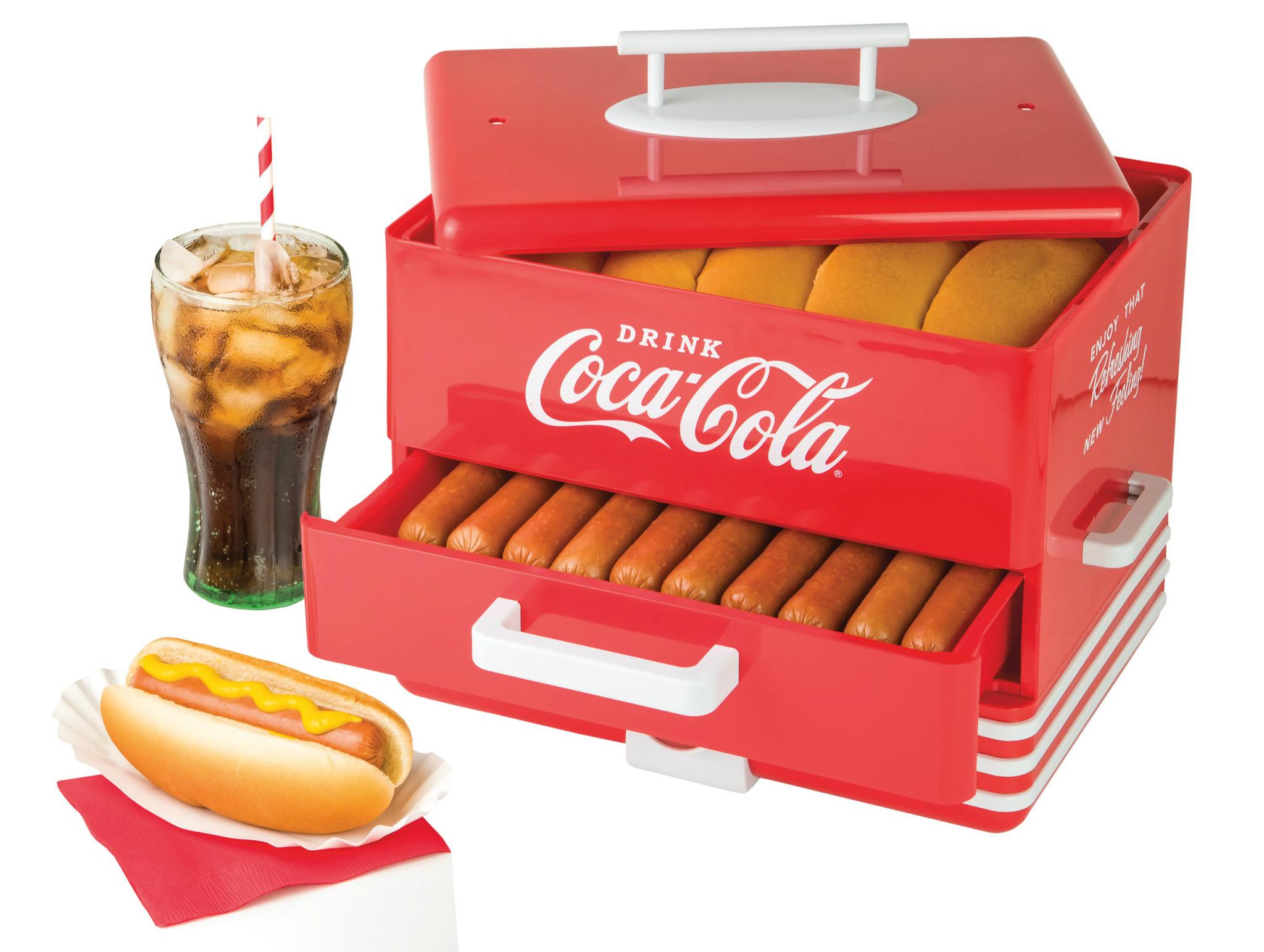 Vaporera para hot dogs