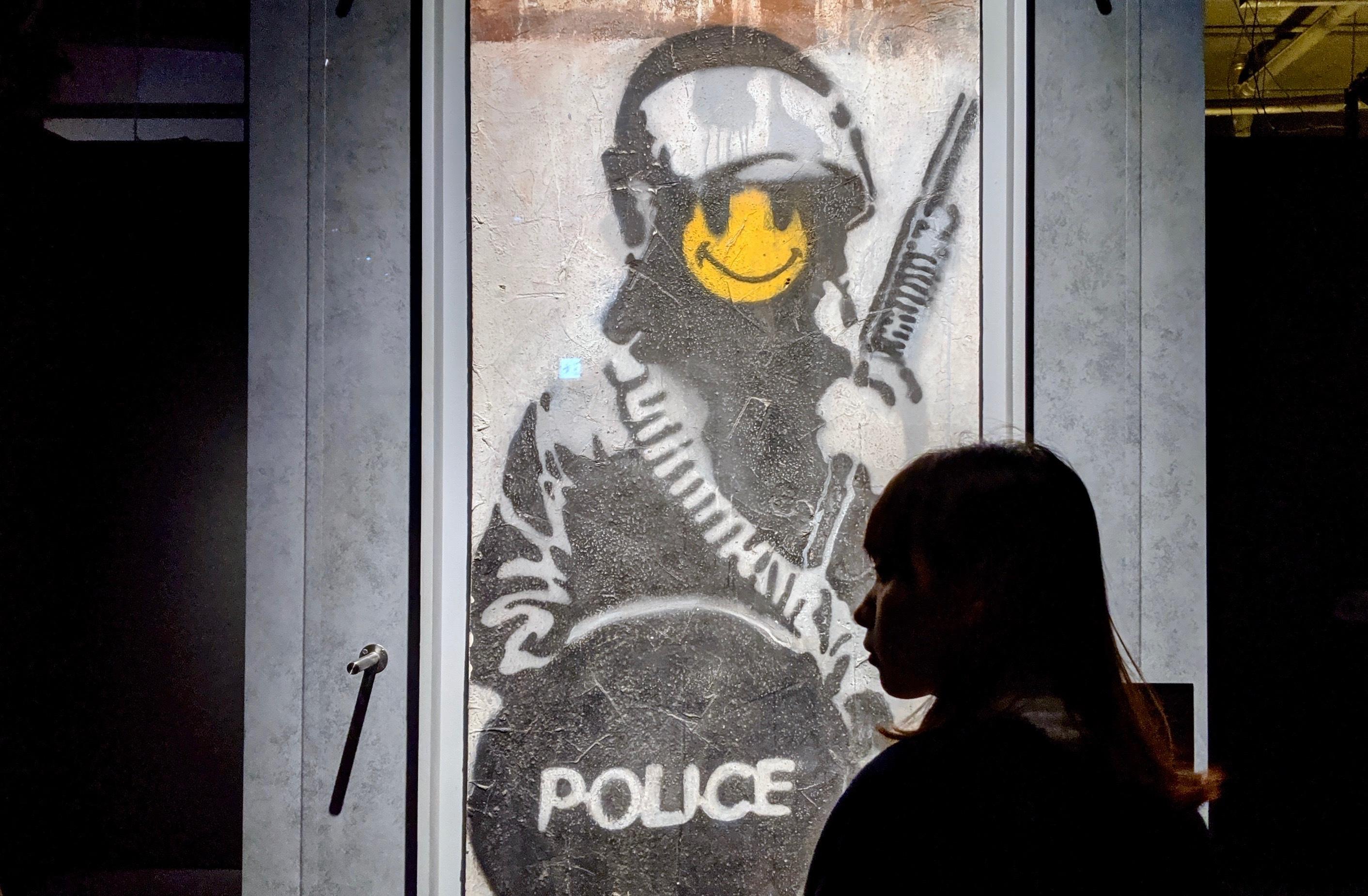 「Banksy: Genius or Vandal」世界巡迴展覽