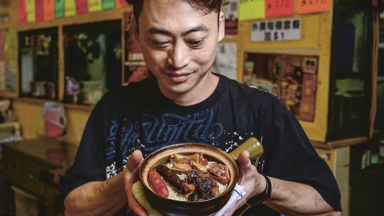 Foodie talk Louise Chu claypot rice